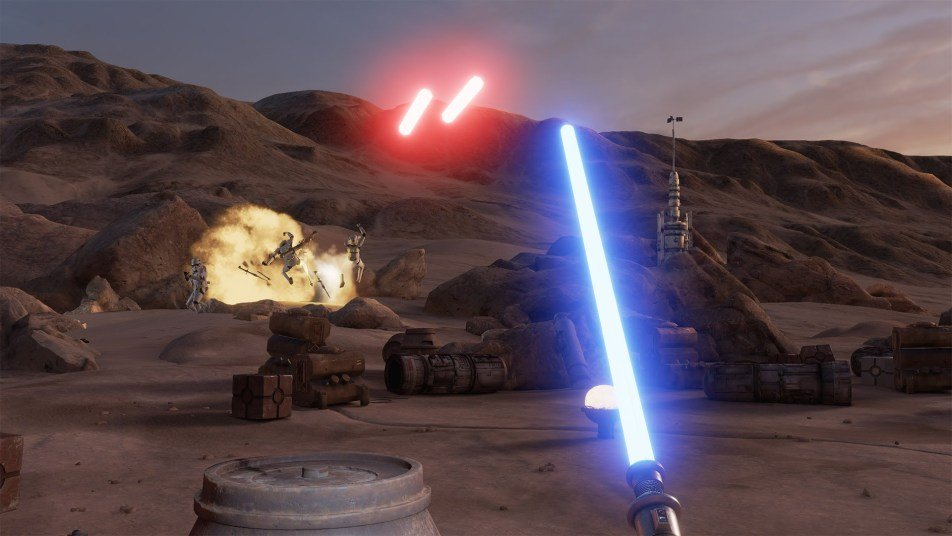 Star Wars: Trials on Tatooine появилась в базе данных Steam