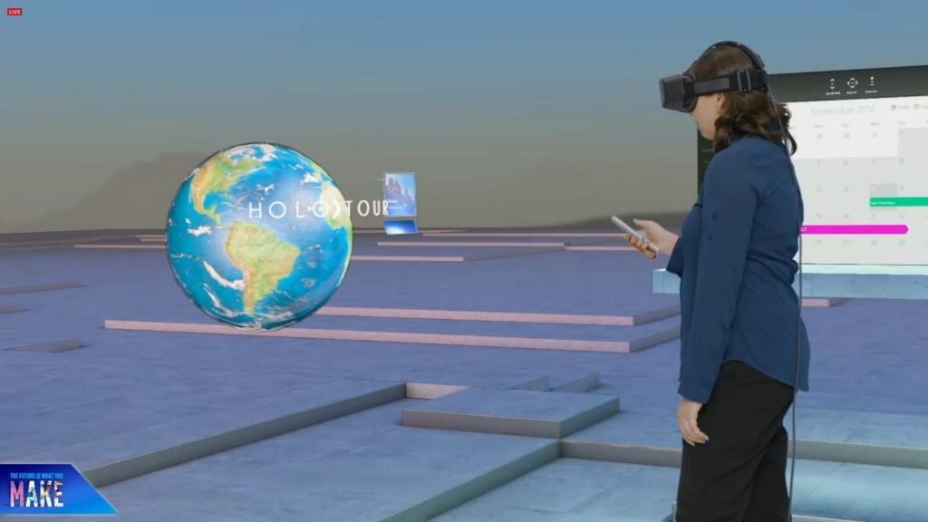 Windows Holographic выходит на Windows 10 в 2017