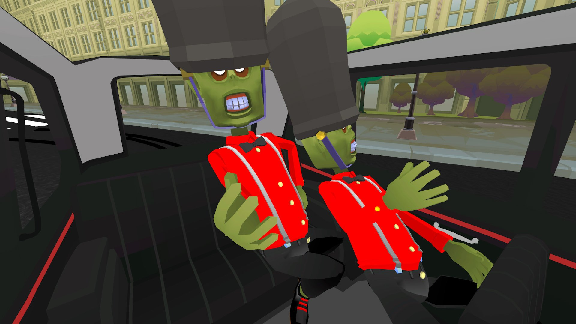 Каталог игр для PS VR №47: The Modern Zombie Taxi Co.