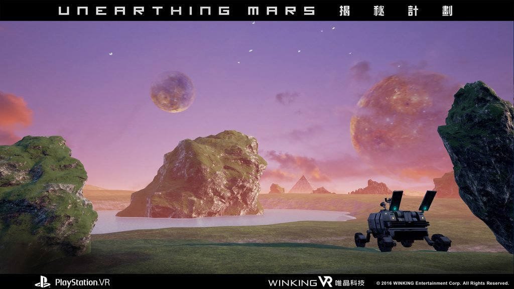 Каталог игр для PS VR №24: Unearthing Mars