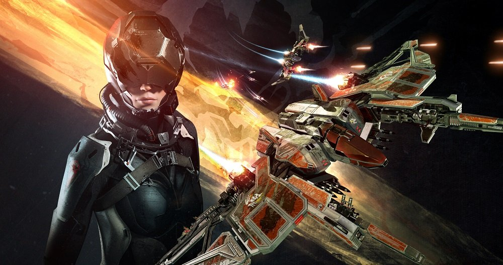 Каталог игр для PS VR №17: EVE: Valkyrie