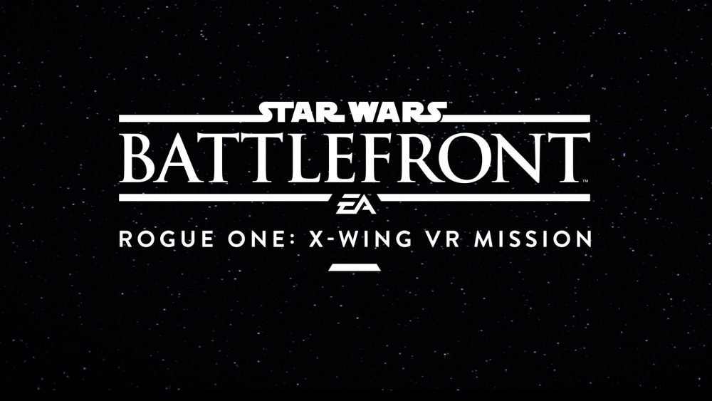 Известна дата выхода Star Wars: Rogue One VR Experience
