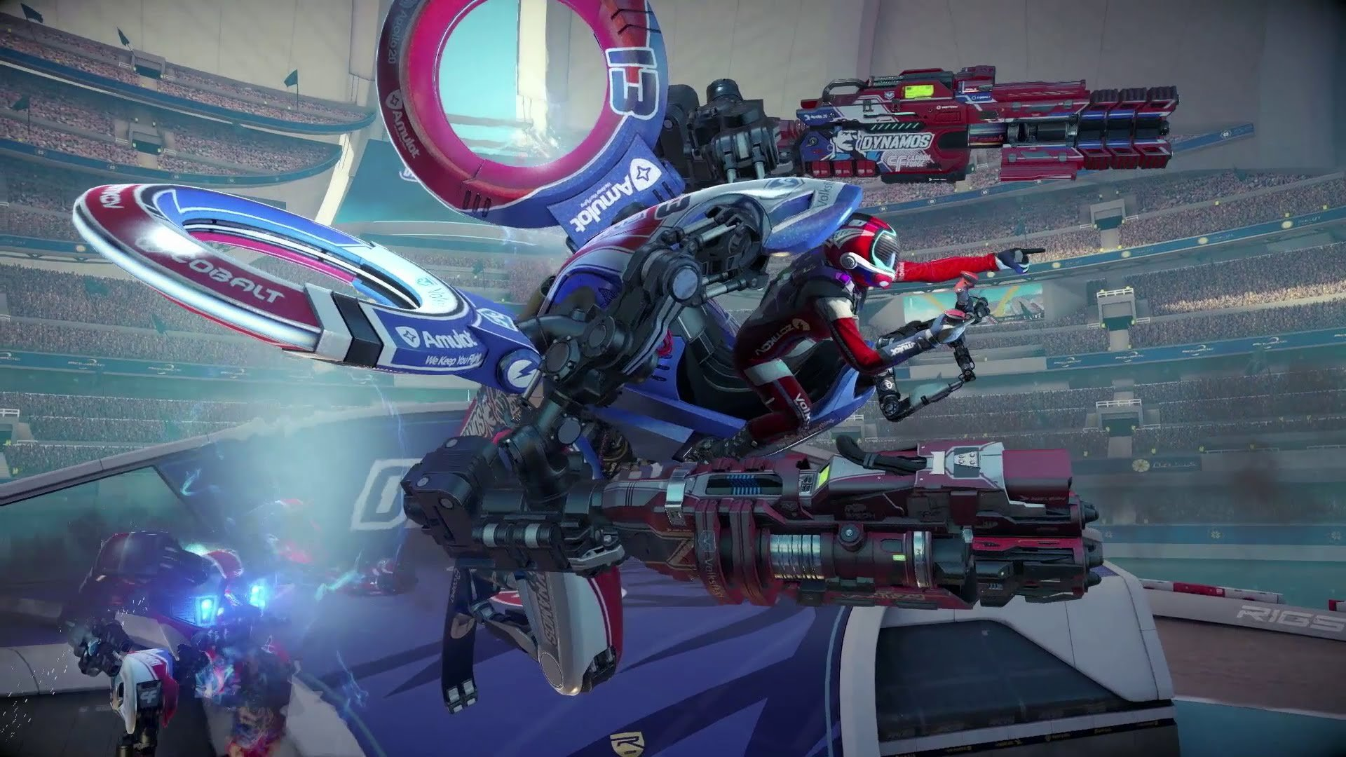 Больше никаких DLC для RIGS: Mechanized Combat League