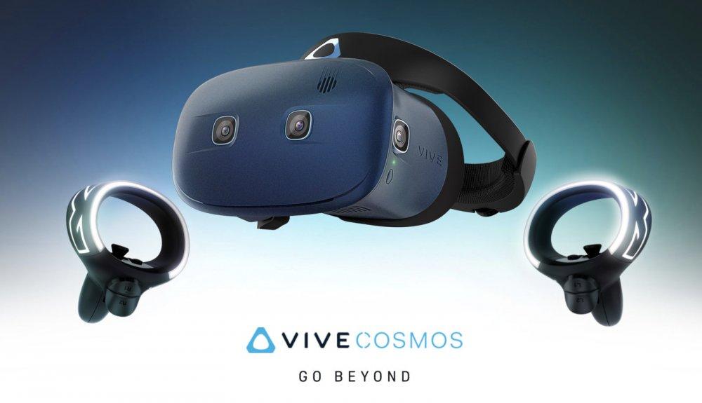 Видео-презентация шлема виртуальной реальности HTC Vive Cosmos
