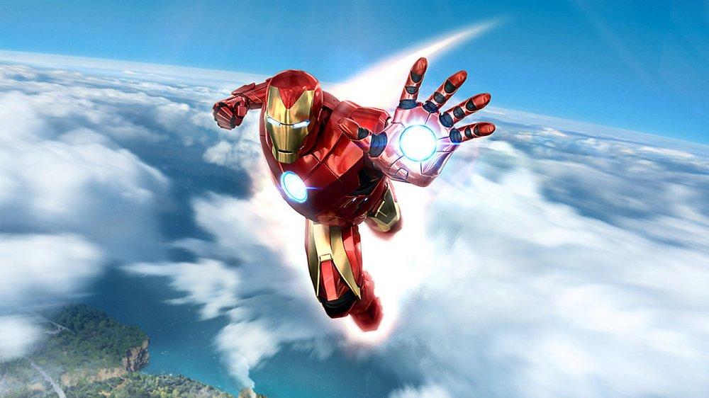 20 минут игры Iron Man VR
