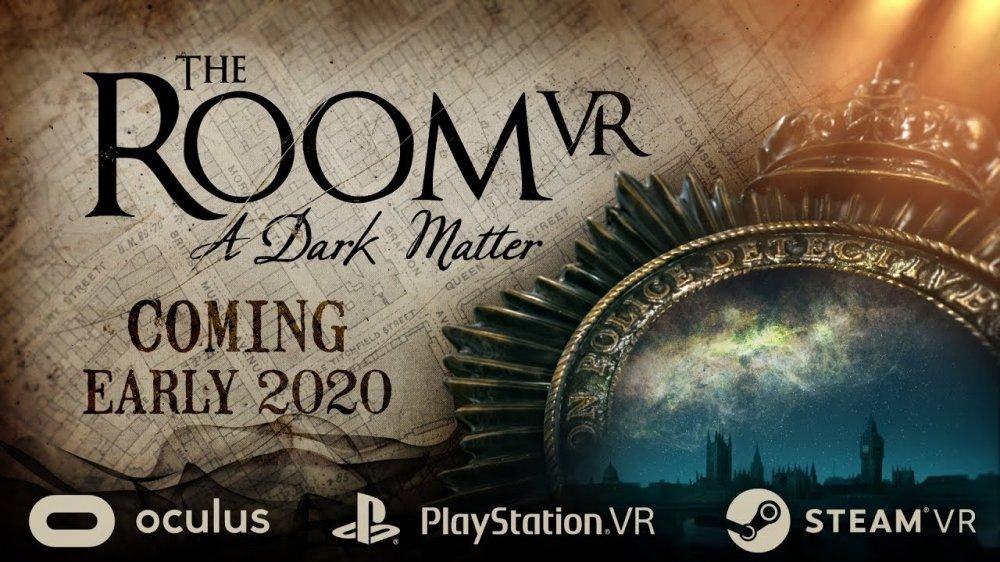 Культовая головоломка выходит в VR. Встречайте, The Room VR: A Dark Matter. Трейлер и особенности игры.