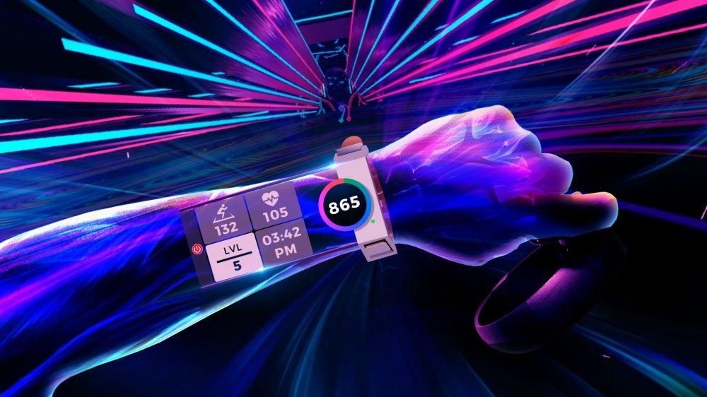 Фитнес-обновление в VR-игре Synth Riders